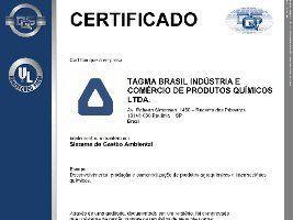 Tagma é certificada pela norma ISO 14001:2015 de gestão ambiental