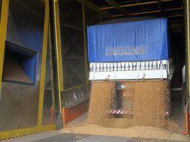 Cotriguaçu inaugura tombador para caminhões de 30 metros