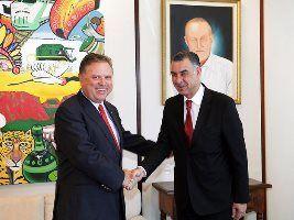 Blairo Maggi quer ampliar comércio agrícola com o Egito